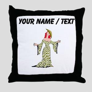 Custom Actress Throw Pillow