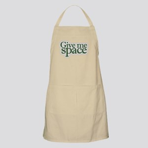 Give me space BBQ Apron