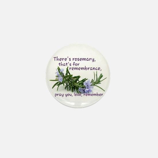Pray you, love Remember Mini Button