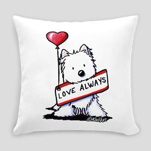 Love Always Westie Master Pillow