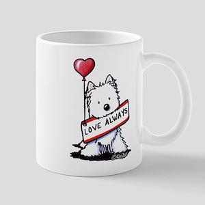 Love Always Westie Mug