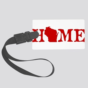 HOME - Wisconsin Large Luggage Tag