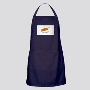 Cyprus flag Apron (dark)