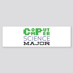 Computer Science Major Bumper Sticker
