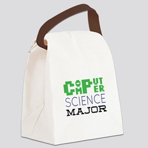 Computer Science Major Canvas Lunch Bag