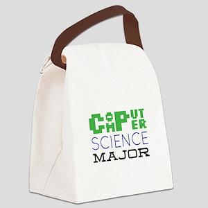 Computer Science Major Canvas Lunch Bag