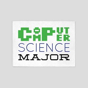 Computer Science Major 5'x7'Area Rug