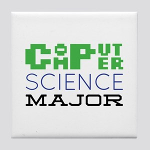 Computer Science Major Tile Coaster