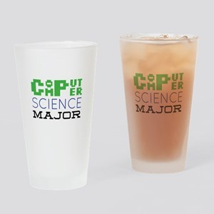 Computer Science Major Drinking Glass