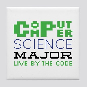 Live By The Code Tile Coaster
