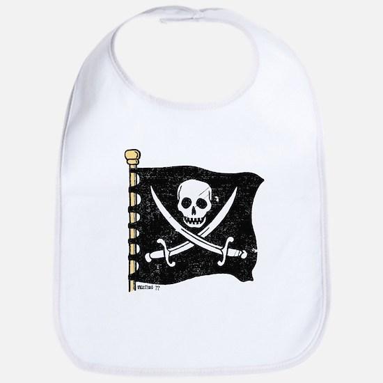 Pirate Flag Bib