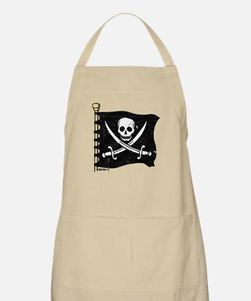 Pirate Flag BBQ Apron