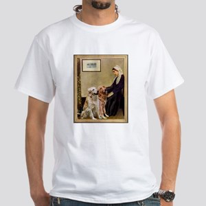 Whistlers Mother 2 Golden Retriever White Tee