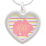 Personalizable Monogram Bunny Necklaces