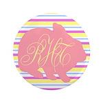 Personalizable Monogram Bunny 3.5