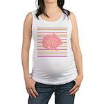 Personalizable Monogram Bunny Maternity Tank Top