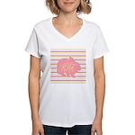 Personalizable Monogram Bunny T-Shirt