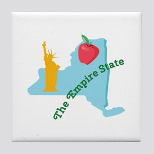The Empire State Tile Coaster