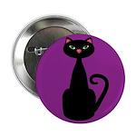 Black Cat on Purple 2.25