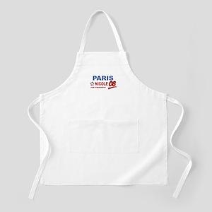 Paris and Nicole for presiden BBQ Apron