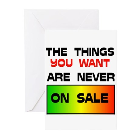 NEVER ON SALE Greeting Cards (Pk of 10)
