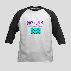 Dive Clean Kids Baseball Jersey