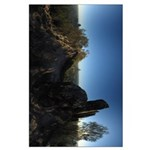 Glass House Mountains In 360 Large Poster