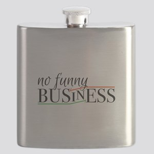 No Funny Business Flask
