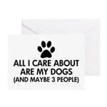 All I Care About Are My Greeting Cards (Pk of 10)