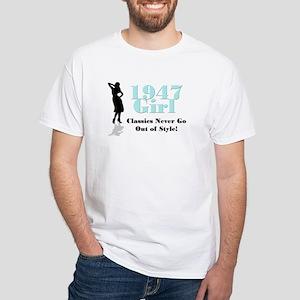 1947, Style Classics White T-shirt