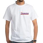 Vicenarian White T-shirt