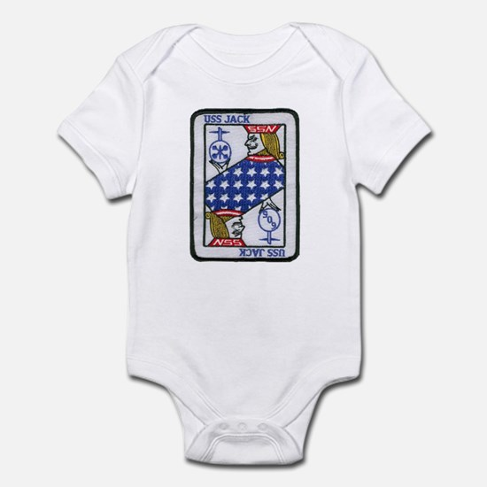 USS JACK Infant Bodysuit