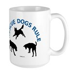 Rescue Dogs Rule Large Mug