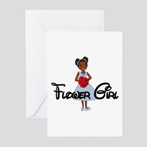 Tina's Flower Girl Greeting Cards (Pk of 10)