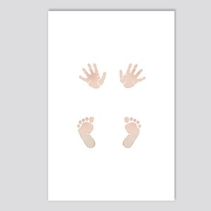 Baby_Hands_and_Feet_Maternity_Exc1 Postcards (Pack