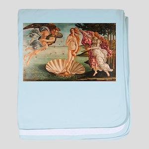 Botticelli Birth Of Venus baby blanket