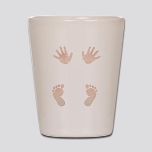 Baby_Hands_and_Feet_Maternity_Exc1 Shot Glass