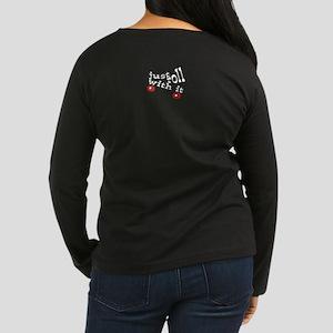 SkATe! Women's Long Sleeve Dark T-Shirt