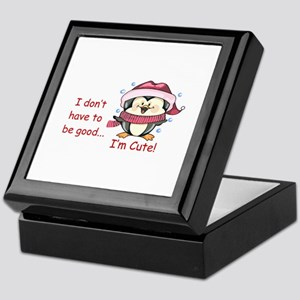 IM CUTE! Keepsake Box