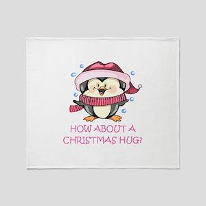 CHRISTMAS HUG? Throw Blanket