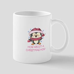 CHRISTMAS HUG? Mugs