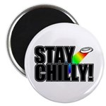 "Stay Chilly! 2.25"" Magnet (10 pack)"