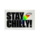 Stay Chilly! Rectangle Magnet