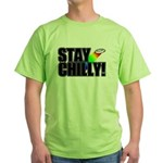 Stay Chilly! Green T-Shirt
