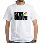Stay Chilly! White T-Shirt