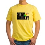 Stay Chilly! Yellow T-Shirt