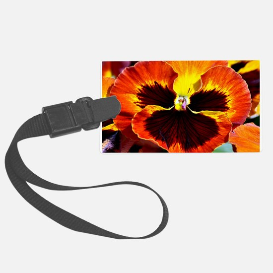 Funny Pansy Luggage Tag