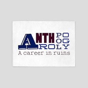 Career In Ruins 5'x7'Area Rug