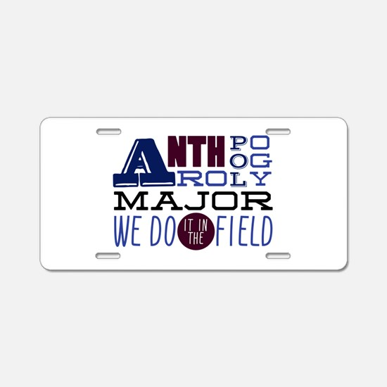 In The Field Aluminum License Plate