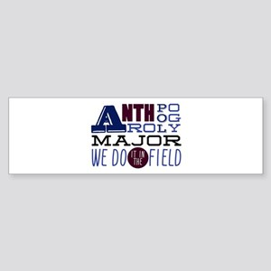 In The Field Bumper Sticker